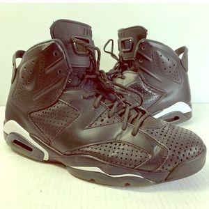"Nike Air Jordan Retro 6 ""Black Cat"" size 11 RARE"